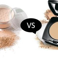 Pó compacto vs Pó translucido