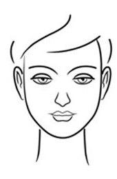 rosto oval